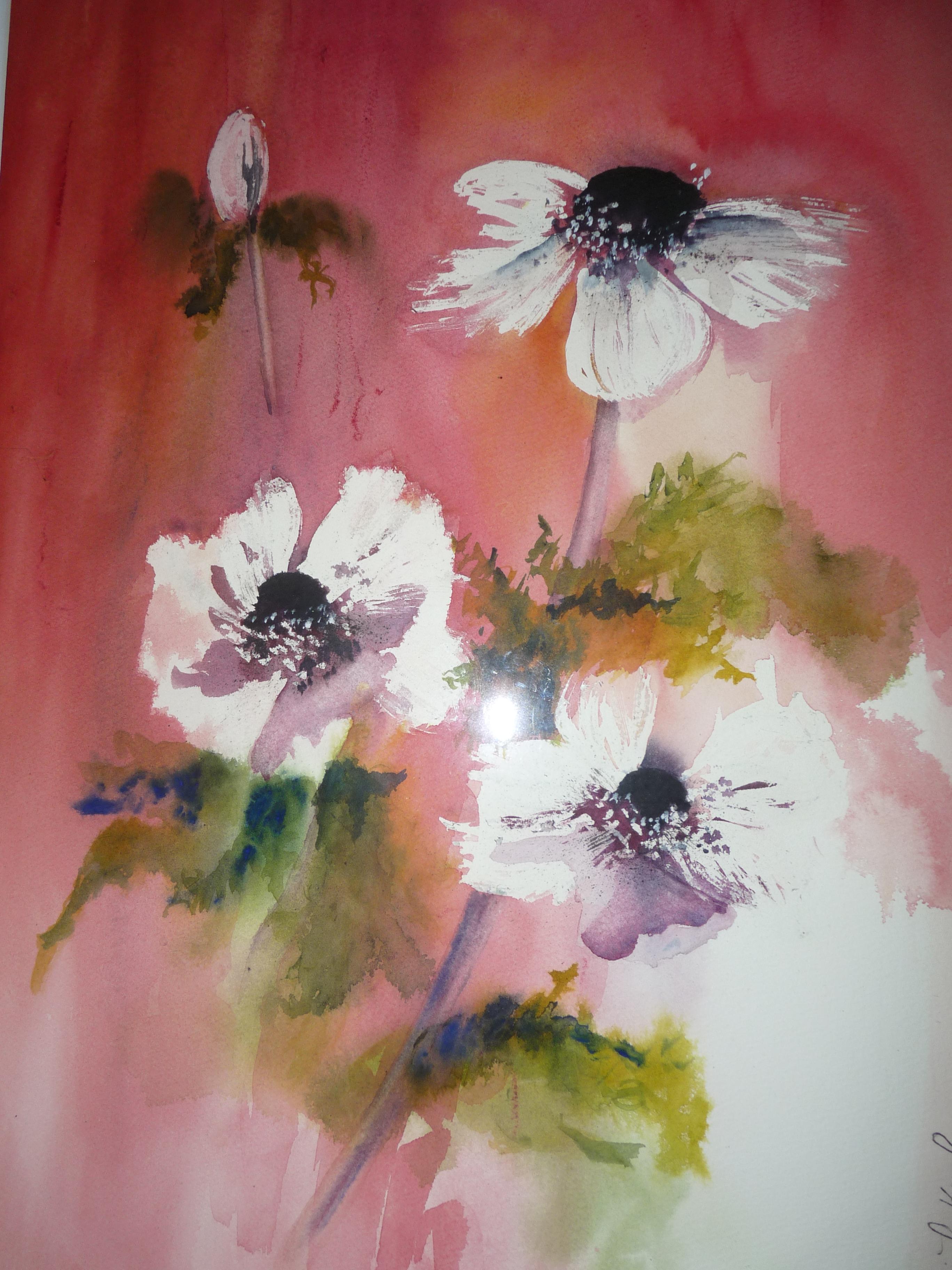 Bouquet daniele krol for Aquarelle fleurs
